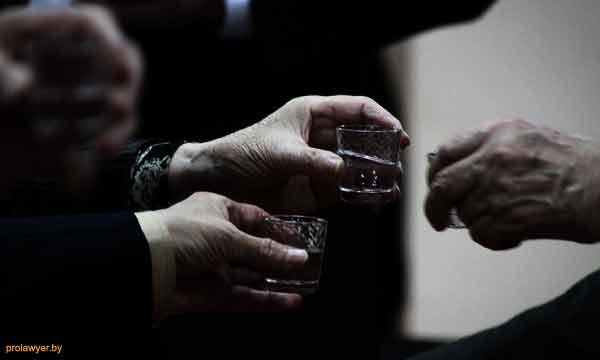 Перемещение алкоголя через границу